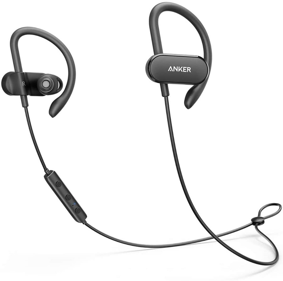 Original Anker Sound buds Curve Wireless Headphones
